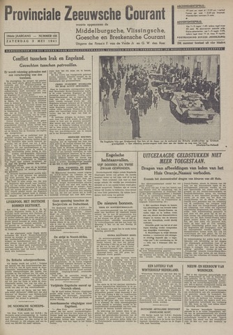 Provinciale Zeeuwse Courant 1941-05-03
