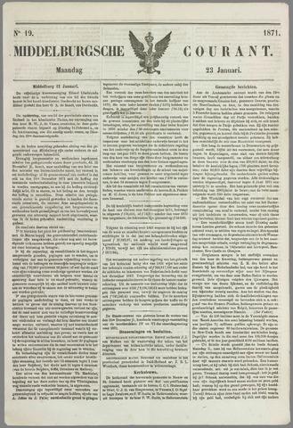 Middelburgsche Courant 1871-01-23