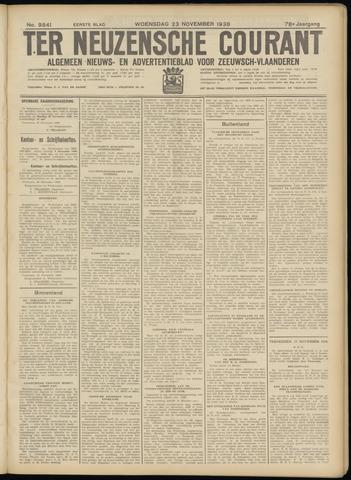 Ter Neuzensche Courant. Algemeen Nieuws- en Advertentieblad voor Zeeuwsch-Vlaanderen / Neuzensche Courant ... (idem) / (Algemeen) nieuws en advertentieblad voor Zeeuwsch-Vlaanderen 1938-11-23