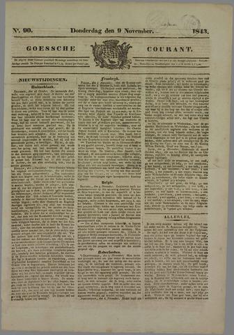 Goessche Courant 1843-11-09