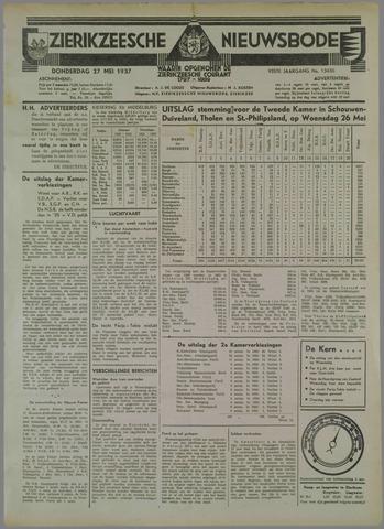 Zierikzeesche Nieuwsbode 1937-05-27