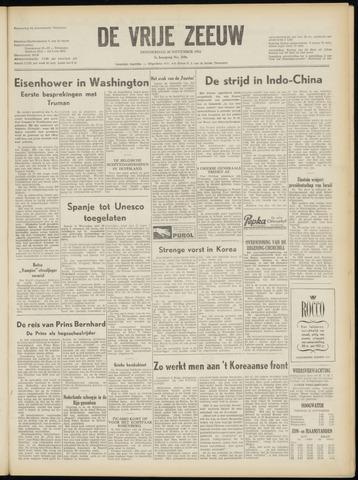 de Vrije Zeeuw 1952-11-20