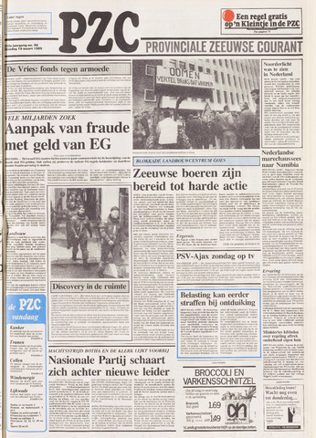 Provinciale Zeeuwse Courant 1989-03-14
