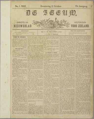 De Zeeuw. Christelijk-historisch nieuwsblad voor Zeeland 1902-10-02