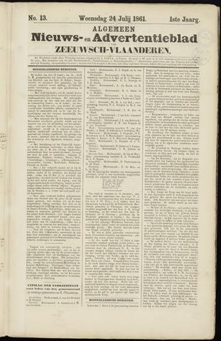 Ter Neuzensche Courant. Algemeen Nieuws- en Advertentieblad voor Zeeuwsch-Vlaanderen / Neuzensche Courant ... (idem) / (Algemeen) nieuws en advertentieblad voor Zeeuwsch-Vlaanderen 1861-07-24