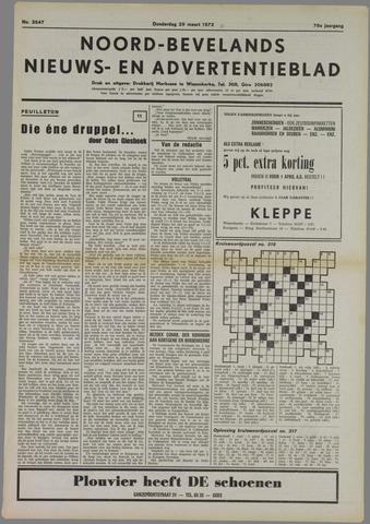 Noord-Bevelands Nieuws- en advertentieblad 1973-03-29