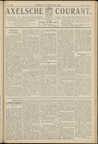 Axelsche Courant 1940-02-27