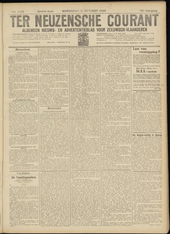 Ter Neuzensche Courant. Algemeen Nieuws- en Advertentieblad voor Zeeuwsch-Vlaanderen / Neuzensche Courant ... (idem) / (Algemeen) nieuws en advertentieblad voor Zeeuwsch-Vlaanderen 1936-10-21