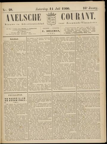 Axelsche Courant 1900-07-14