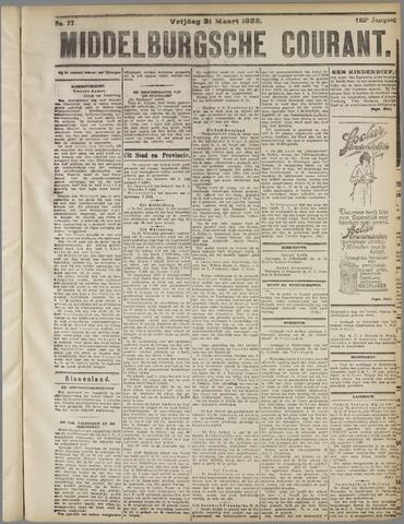 Middelburgsche Courant 1922-03-31