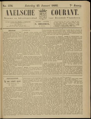 Axelsche Courant 1892-01-23