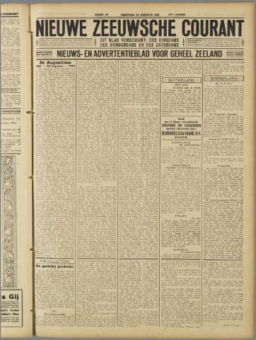 Nieuwe Zeeuwsche Courant 1930-08-28