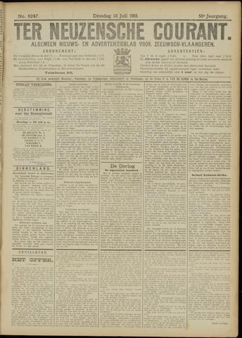 Ter Neuzensche Courant. Algemeen Nieuws- en Advertentieblad voor Zeeuwsch-Vlaanderen / Neuzensche Courant ... (idem) / (Algemeen) nieuws en advertentieblad voor Zeeuwsch-Vlaanderen 1915-07-13