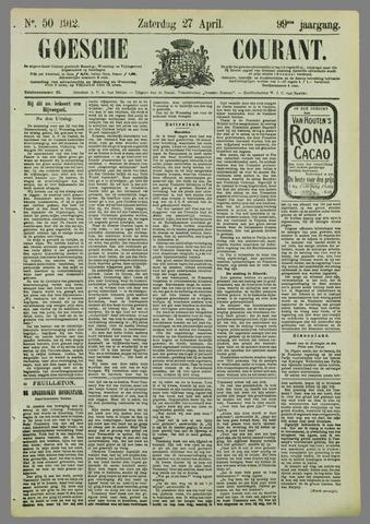 Goessche Courant 1912-04-27