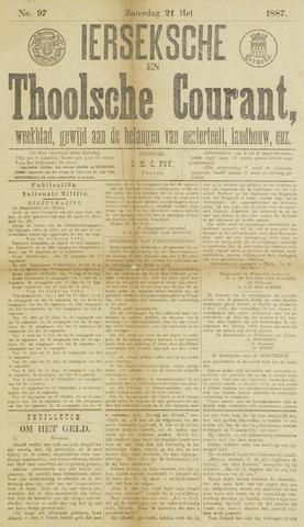 Ierseksche en Thoolsche Courant 1887-05-21