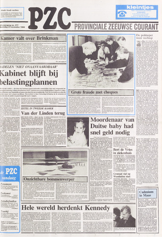 Provinciale Zeeuwse Courant 1988-11-23