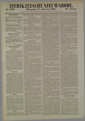 Zierikzeesche Nieuwsbode 1885-01-27