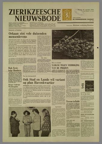 Zierikzeesche Nieuwsbode 1974-09-23