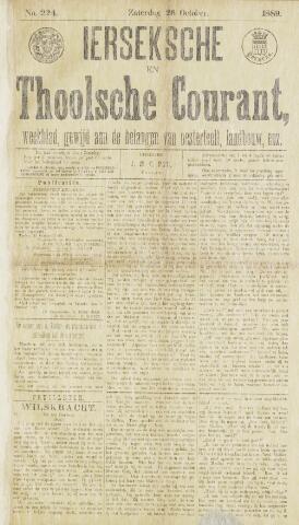 Ierseksche en Thoolsche Courant 1889-10-26