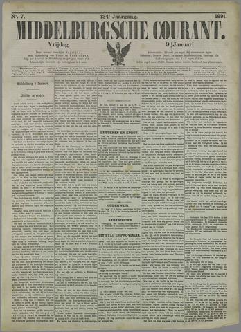 Middelburgsche Courant 1891-01-09