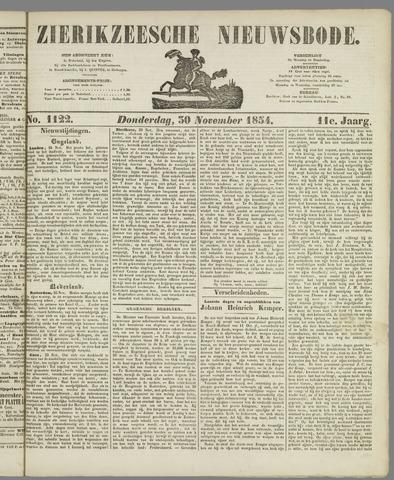 Zierikzeesche Nieuwsbode 1854-11-30