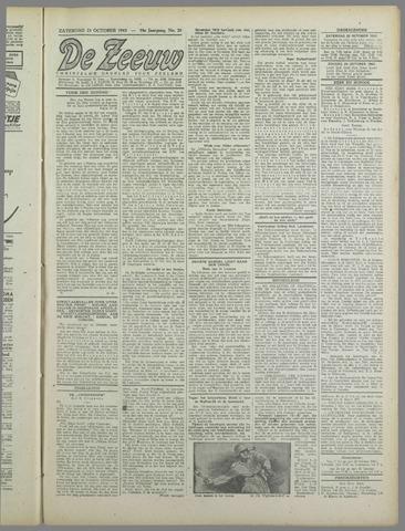 De Zeeuw. Christelijk-historisch nieuwsblad voor Zeeland 1943-10-23