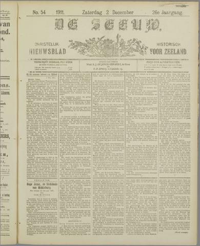 De Zeeuw. Christelijk-historisch nieuwsblad voor Zeeland 1911-12-02