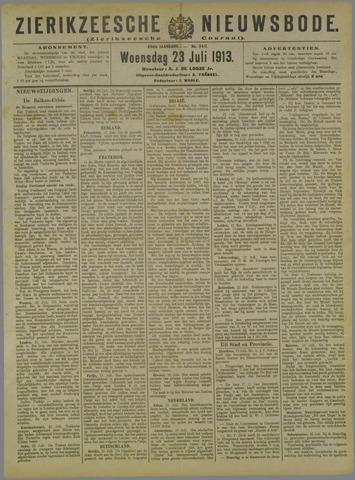 Zierikzeesche Nieuwsbode 1913-07-23