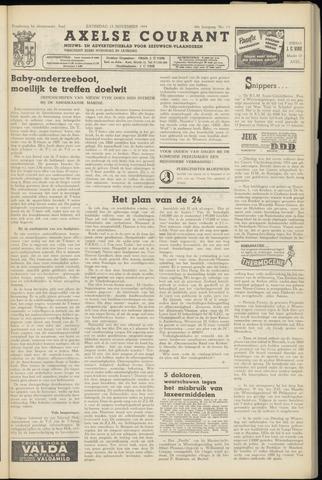 Axelsche Courant 1954-11-13
