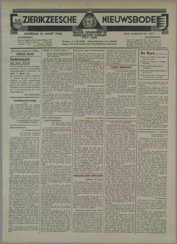 Zierikzeesche Nieuwsbode 1936-03-21