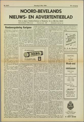 Noord-Bevelands Nieuws- en advertentieblad 1954-05-08