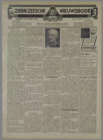 Zierikzeesche Nieuwsbode 1936-01-28