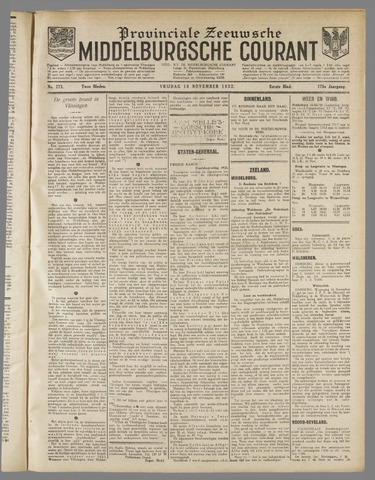 Middelburgsche Courant 1932-11-18