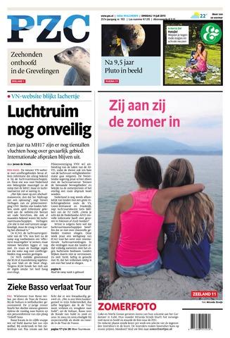 Provinciale Zeeuwse Courant 2015-07-14