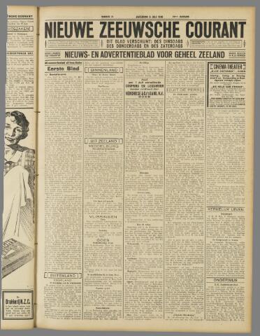 Nieuwe Zeeuwsche Courant 1930-07-05