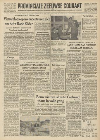 Provinciale Zeeuwse Courant 1954-06-12