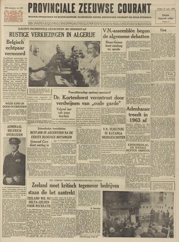 Provinciale Zeeuwse Courant 1962-09-21