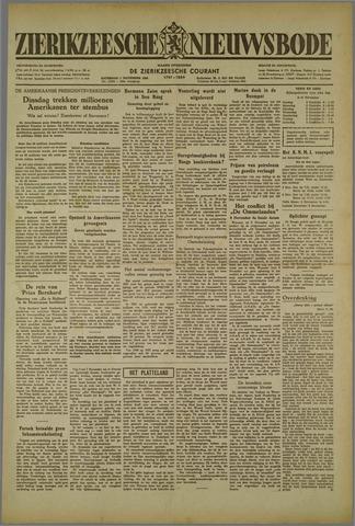 Zierikzeesche Nieuwsbode 1952-11-01