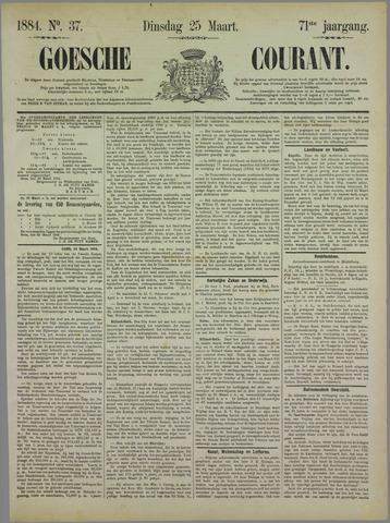 Goessche Courant 1884-03-25