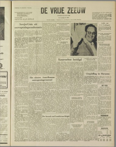 de Vrije Zeeuw 1960-06-28