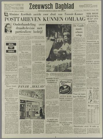 Zeeuwsch Dagblad 1960-02-11