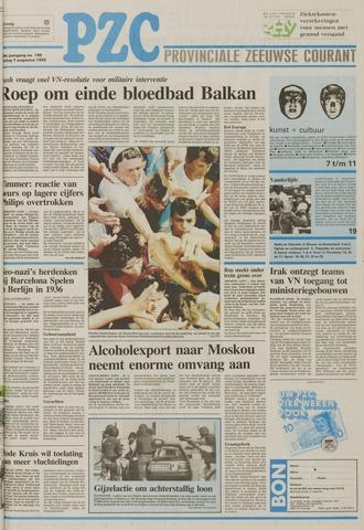 Provinciale Zeeuwse Courant 1992-08-07
