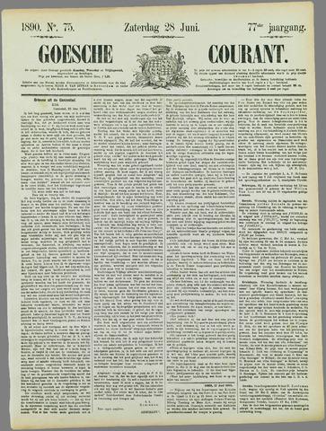 Goessche Courant 1890-06-28