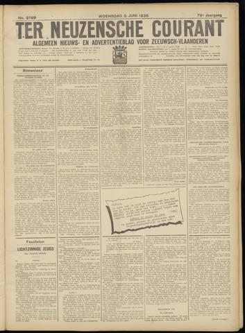 Ter Neuzensche Courant. Algemeen Nieuws- en Advertentieblad voor Zeeuwsch-Vlaanderen / Neuzensche Courant ... (idem) / (Algemeen) nieuws en advertentieblad voor Zeeuwsch-Vlaanderen 1938-06-08