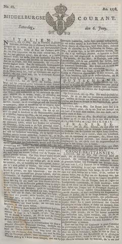 Middelburgsche Courant 1778-06-06