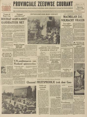 Provinciale Zeeuwse Courant 1962-09-17