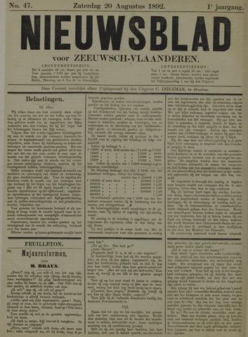 Nieuwsblad voor Zeeuwsch-Vlaanderen 1892-08-20