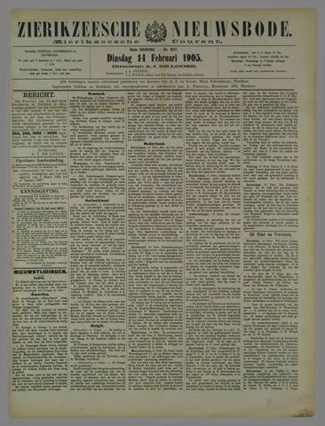 Zierikzeesche Nieuwsbode 1905-02-14