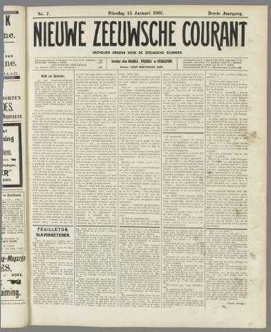 Nieuwe Zeeuwsche Courant 1907-01-15
