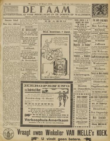 de Faam en de Faam/de Vlissinger 1924-03-12
